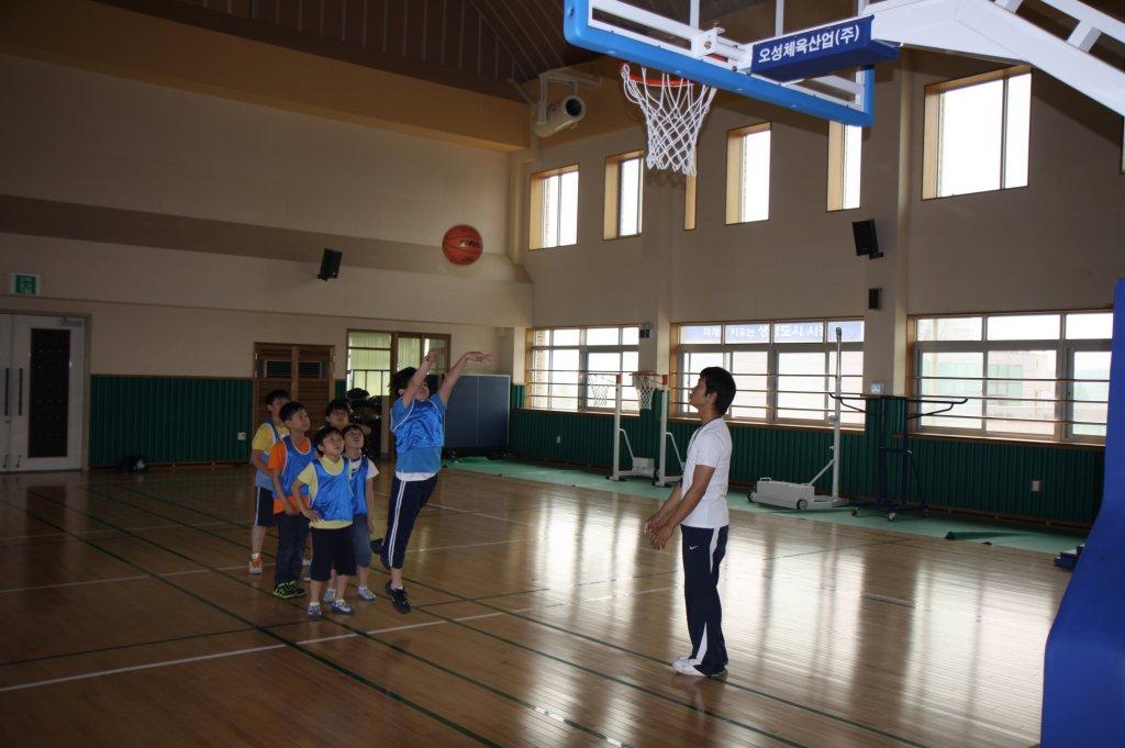 2011년 6월 8일 농구슛대회