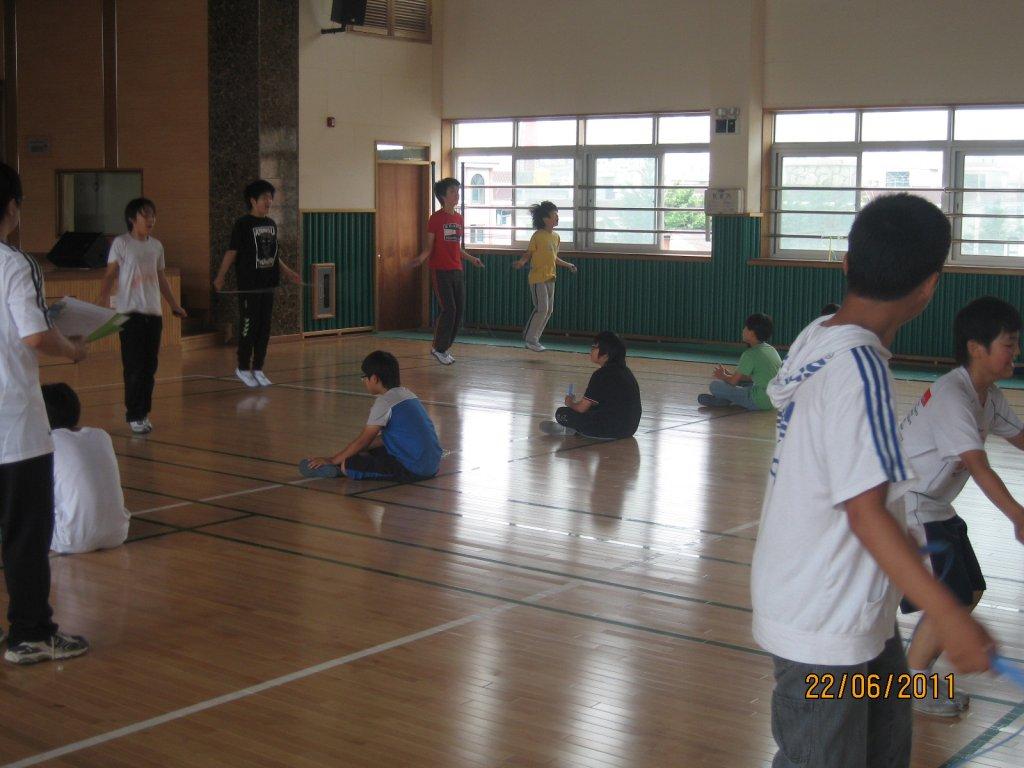 2011.06.22  교내 G-PAPS 줄넘기왕 선발대회