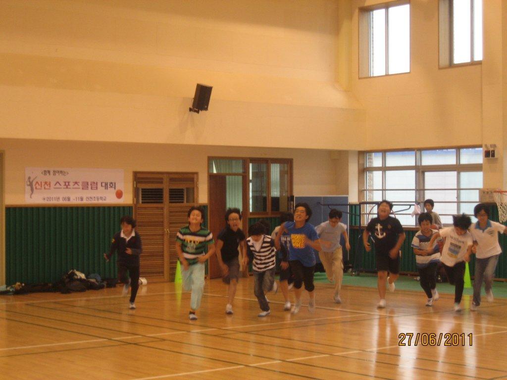 2011.06.24~27 신천스포츠클럽 체력왕선발대회